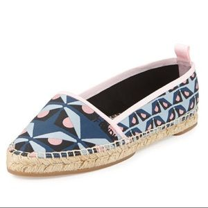 Auth Fendi Monster Junia Espadrilles